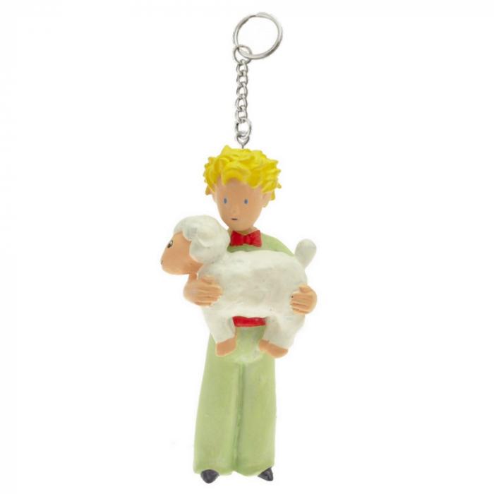 Porte-clés figurine Plastoy Le Petit Prince avec le mouton 61028 (2016)