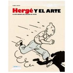 Libro de Pierre Streckx Hergé y el Arte, Zephyrum ES 27241 (2016)