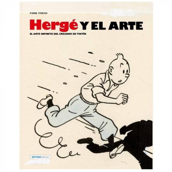 LIvre de de Pierre Streckx Hergé y el Arte, Zephyrum ES 27241 (2016)