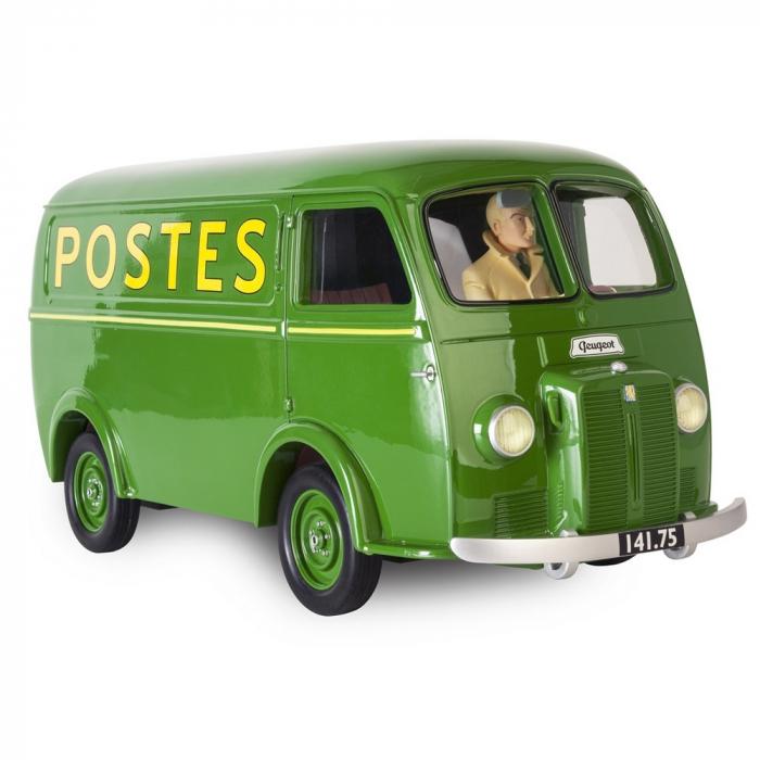 El furgón postal Peugeot D3B 1953 Blake y Mortimer Figures et Vous ARJ10 (2016)