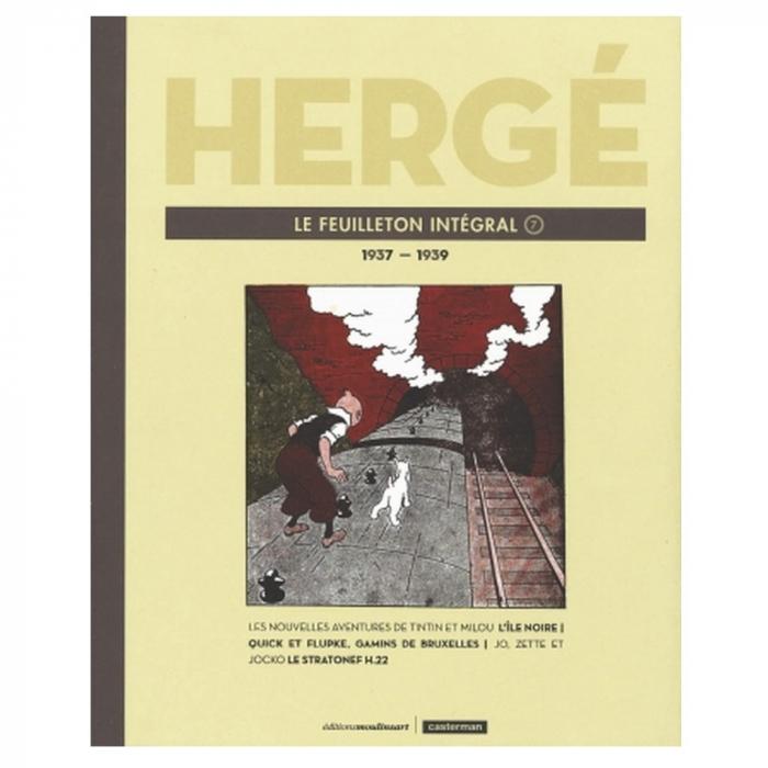 Tintin Le Feuilleton intégral Hergé Tome 7 1937-1939 (24231)
