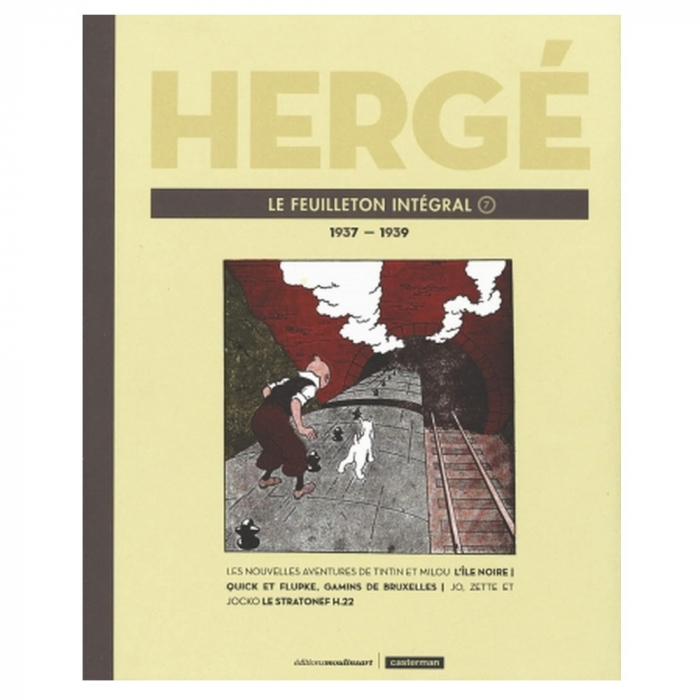 Tintin Le Feuilleton intégral Hergé Volume 7 1937-1939 (24231)