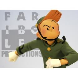 Collectible Figurine Fariboles: Spirou de Schwartz and Yann - SPIS (2010)