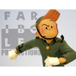 Figurine de collection Fariboles: Spirou de Schwartz et Yann - SPIS (2010)