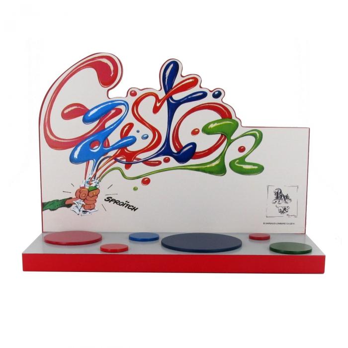 Présentoir décor Pixi pour collection Origine Franquin Gaston Lagaffe 6547 2015
