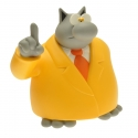 Collectible Figure Plastoy Le Cat uping index by Philippe Geluck 00189 (2015)
