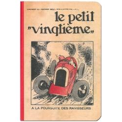 Bloc de notas Libreta Tintín Le Petit vingtième ravisseurs 12,5x20cm (54363)