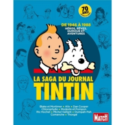 Paris Match, la saga du journal Tintin de 1946 à 1988, Collectif (24021)