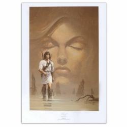 Póster cartel offset P&T de Thorgal Más allá de las sombras Rosinski (50x70cm)