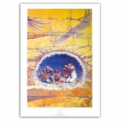 Poster affiche offset P&T de Thorgal Entre Terre et Lumière Rosinski (50x70cm)