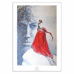 Poster affiche offset P&T de Thorgal Le Maître des Montagnes Rosinski (50x70cm)