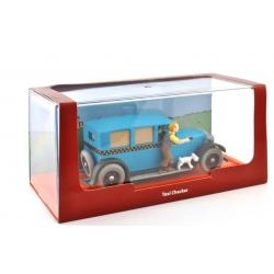 Figure Tintin The Taxi Checker 1929 Tintin in America 1/43 Nº04 25280 (2012)