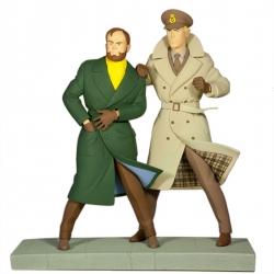 Figurita de colección Fariboles: Blake y Mortimer La Marca Amarilla  BLKM (2013)