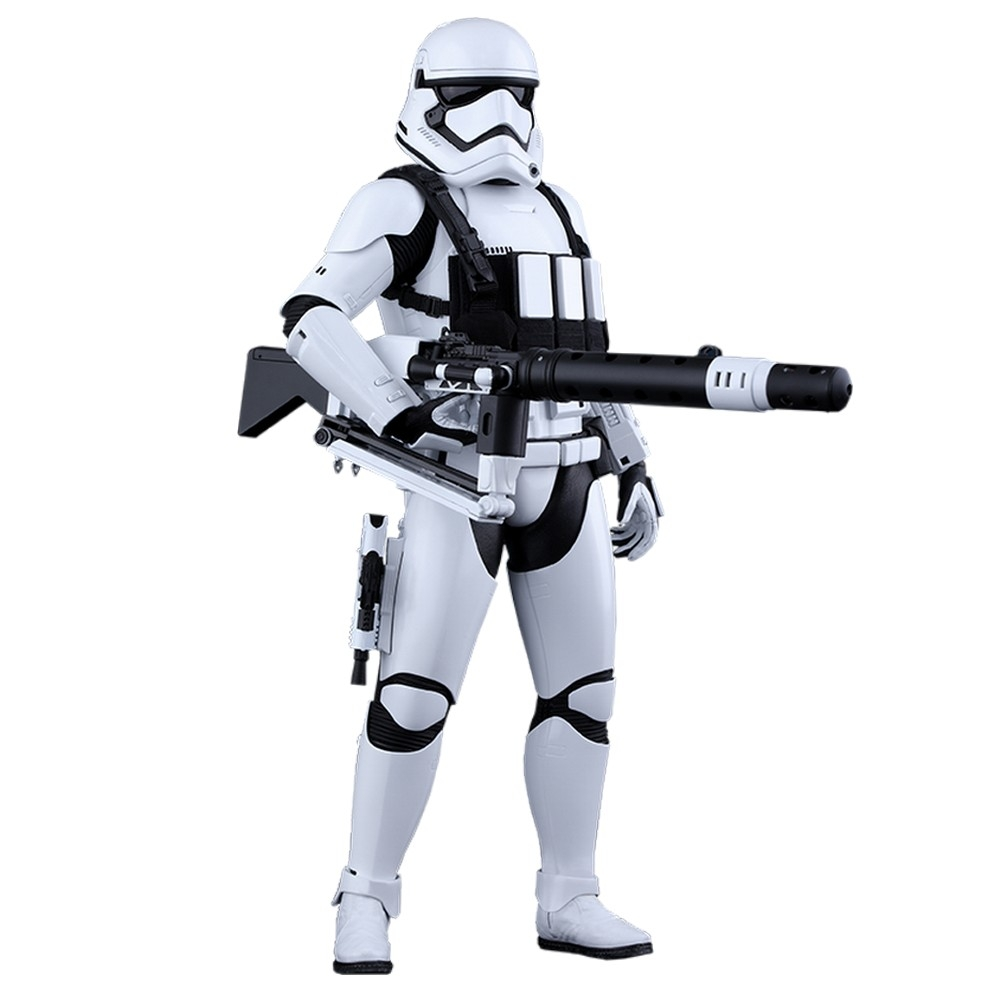 Figure by Hot Toys Star Wars First Order Heavy Gunner Stormtrooper 1 6 (902535)
