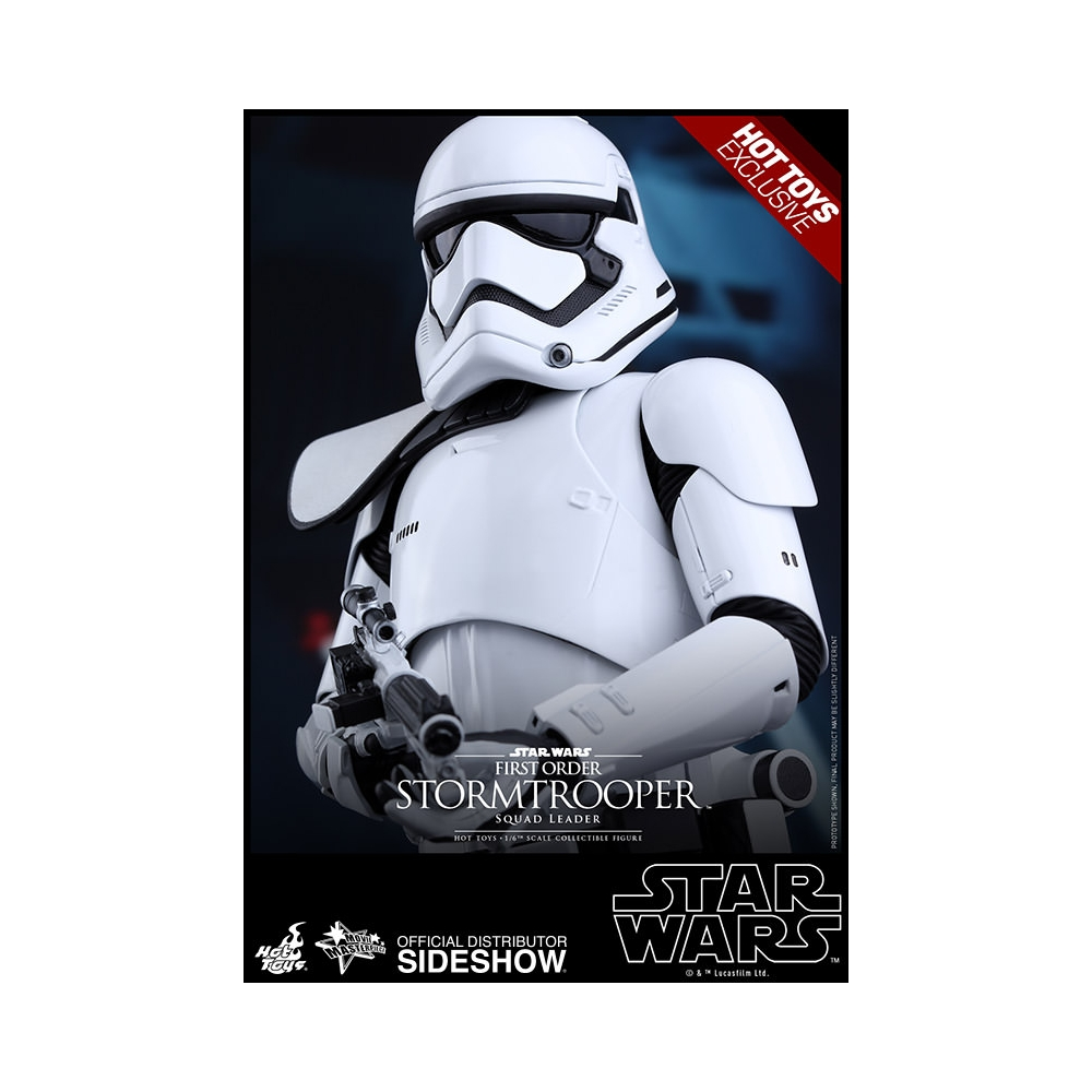 Figure by Hot Hot Hot Toys Star Wars First Order Stormtrooper Squad Leader 1 6 (902539) d669bb