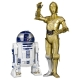Figurine de collection Kotobukiya Star Wars C3-PO et R2-D2 ARTFX+ 1/10 (SW67)