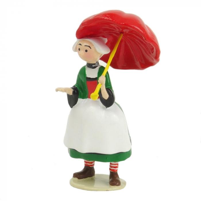 Figurine de collection Pixi Bécassine et son parapluie ouvert 6447 (2012)