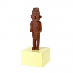 Figurine de collection Tintin Le Fétiche Arumbaya Moulinsart 14cm 46001 (2016)