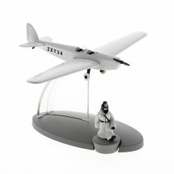 Figurine de Tintin au Pays des soviets L'avion de la police Nº47 29567 (2016)