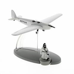 Tintin Figure Land of the Soviets the police plane Nº47 29567 (2016)
