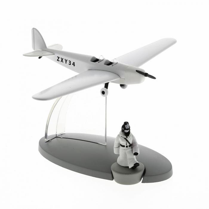 Figura de Tintín El avión de la policia País de los soviets Nº47 29567 (2016)