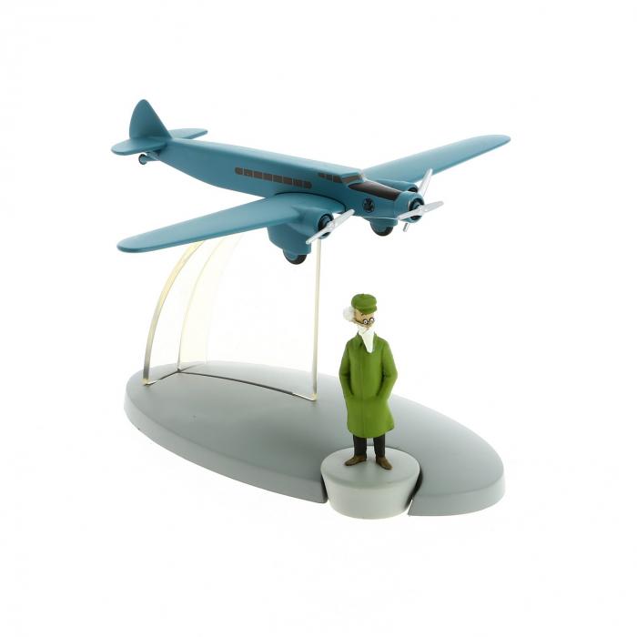 Figura de colección Tintín avión del aeropuerto de Frankfurt Nº48 29568 (2016)