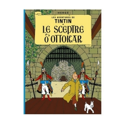 Album The Adventures of Tintin: De scepter van Ottokar A5 (Nederlands)