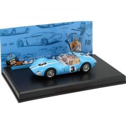 Voiture de collection Michel Vaillant IXO Miniature Le Mans 1961 1/43 (2006)