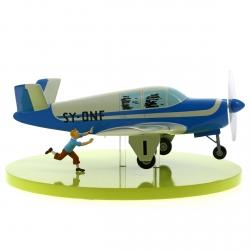 Maqueta de colección Tintín El Avión Bonanza Beechcraft A35 40028 (2012)