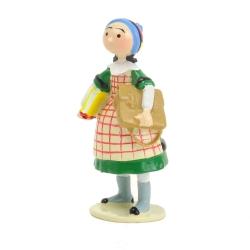 Figurine de collection Pixi Bécassine enfant écolière 6450 (2012)