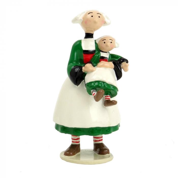 Figura de colección Pixi Bécassine con su muñeca 6444 (2012)