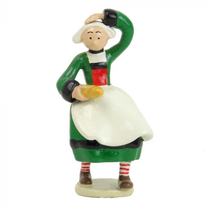 Collectible Figurine Pixi Bécassine with a French Baguette 6445 (2012)