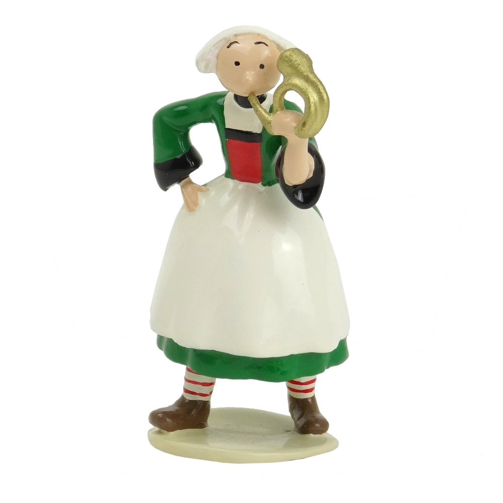 Figurine de collection Pixi Bécassine avec son clairon 6448 (2012)