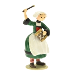 Figurine de collection Pixi Bécassine avec son tambourin 6449 (2012)