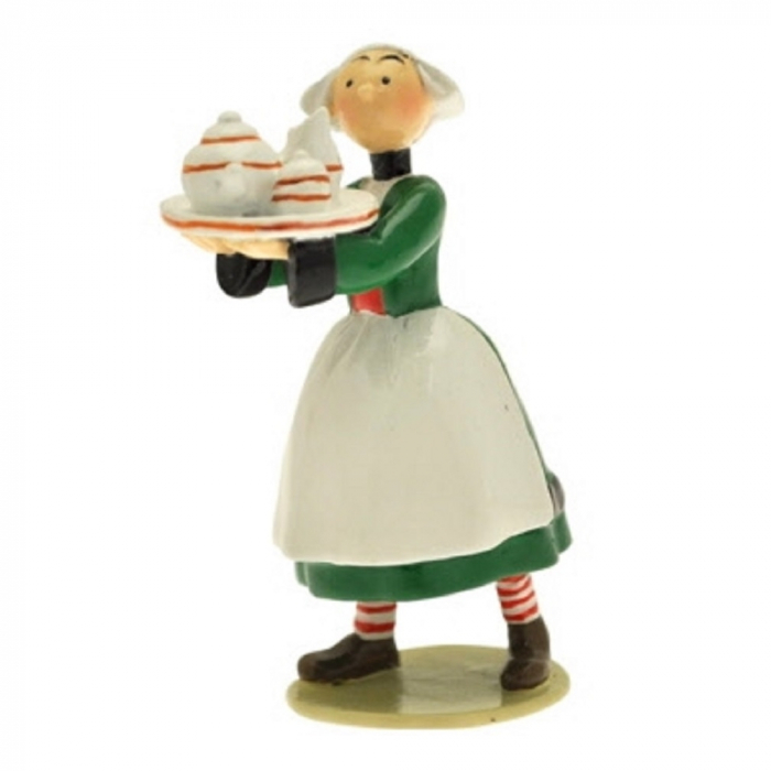 Collectible Figurine Pixi Bécassine carrying a tray 6453 (2012)