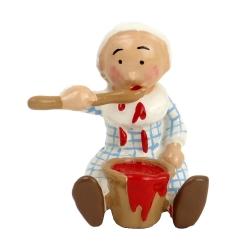 Figura de colección Pixi Bécassine bebé con un tarro de mermelada 6442 (2012)
