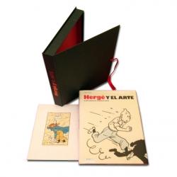 Book by Pierre Streckx Hergé y el Arte, Collector Edition ES 27241 (2017)
