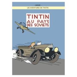 Postal del álbum de Tintín en el país de los Soviets 300913 (15x10cm)