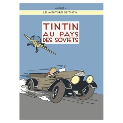 Poster Moulinsart Tintin Album: Tintin in the Land of the Soviets 22240 (50x70cm)