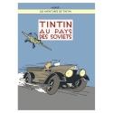 Poster Moulinsart Album de Tintin: Tintin au pays des soviets 22240 (50x70cm)