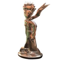 Figurine de collection Le Petit Prince en écharpe Les étains de Virginie (2017)