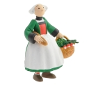 Collectible Figurine Plastoy: Bécassine back from the market 61022 (2014)