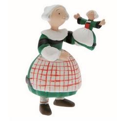 Figura de colección Plastoy: Bécassine con su muñeca de marioneta 61017 (2014)