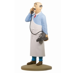 Figurine de collection Tintin le boucher Sanzot Moulinsart 42212 (2017)