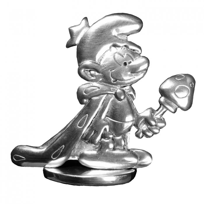 Collectible Figure Les étains de Virginie The King Smurf (207)