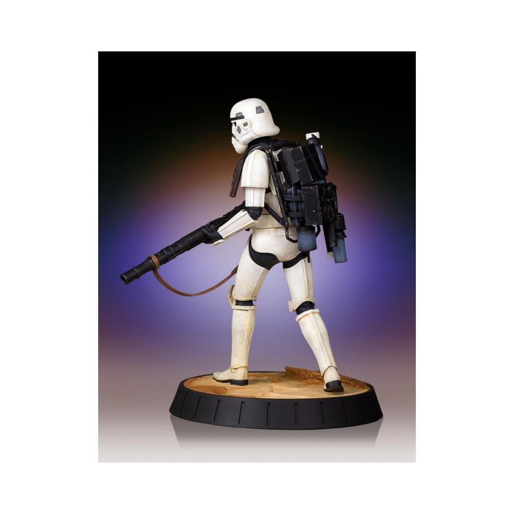 Estatua de colección Gentle Giant Star Wars Episodio Episodio Episodio VII Sandtrooper 1 6 (80330) 54dbde