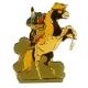 Pin's Yakari riding his horse Little Thunder Golden Version (Casterman 92)