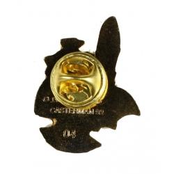 Pin's del busto de Yakari dorado (Casterman 92)