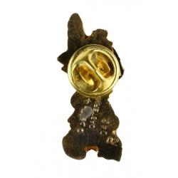 Pin's de Yakari dorado (Casterman 92)