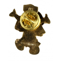 Pin's de Yakari Arco-iris dorado (Casterman 92)
